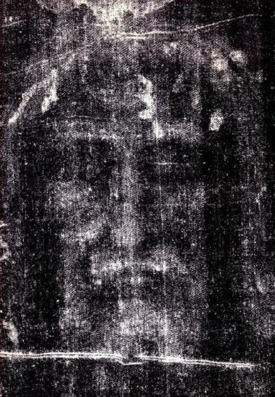 The Visage in negative