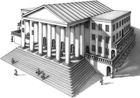 The impossible building: count the columns!